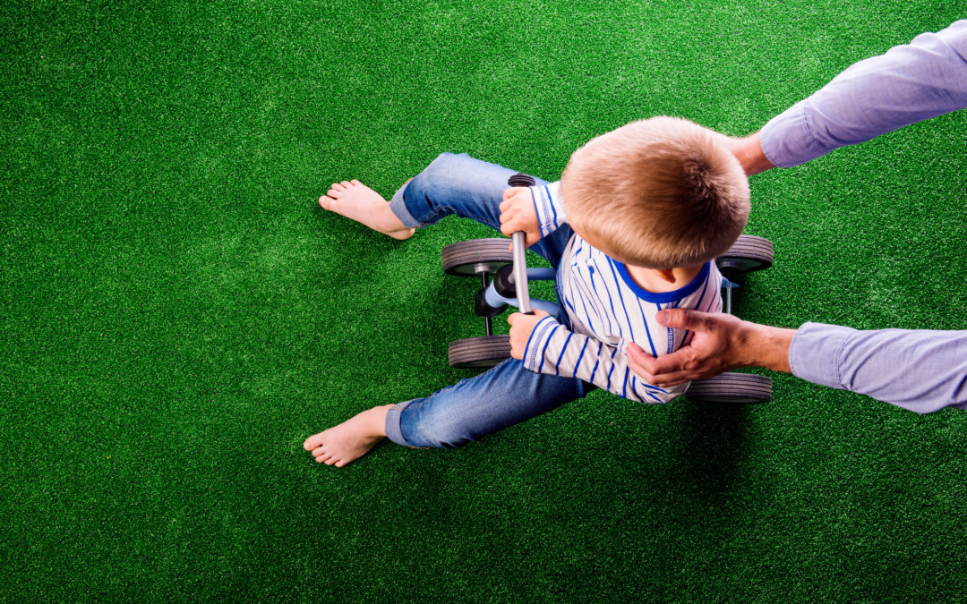 Synthetic Grass Ensures Kids Get Exercise — Even in Winter